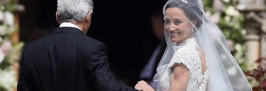 Mariage 5 tenues parfaites