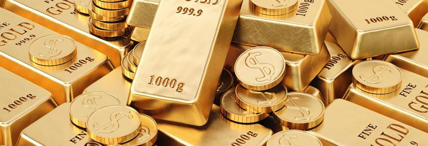 La cotation de l'or